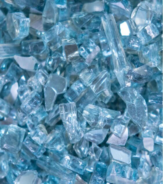 Polar Blue Fire Glass 200gr (NEW)