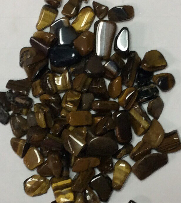 Tigers Eye Tumbled Stones 100+gr