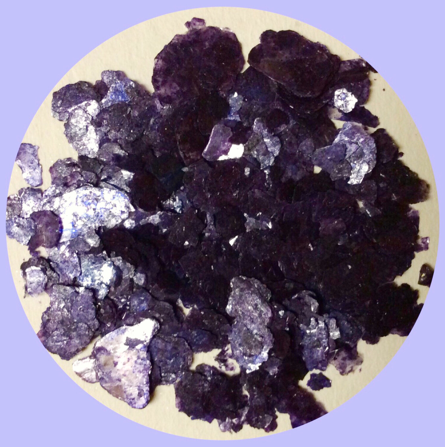 Purple Eggplant Mica Flakes 20gr. (Huge) (NEW)