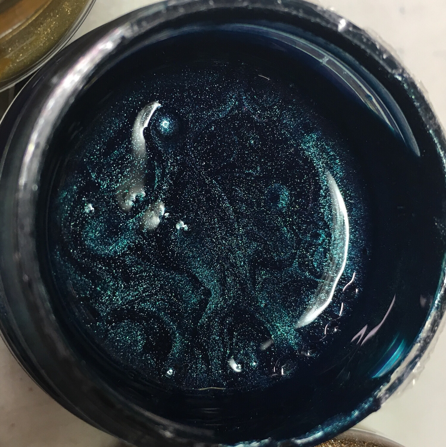 Viva Metallic Paint (Petrol/Peacock) 45ml