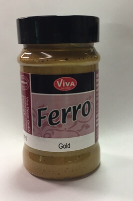 Viva Ferro Texture Paint (Gold)