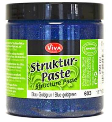 Viva Structure Paste (Blue Green Gold)