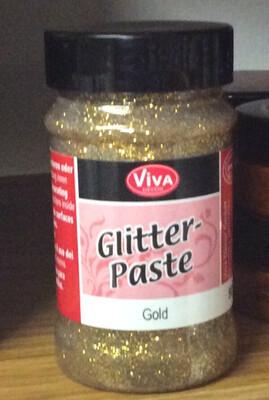 Viva Glitter Paste (Gold)