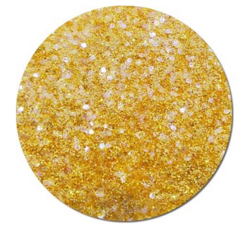 Buttercup Polyester Chunky Holo Glitter