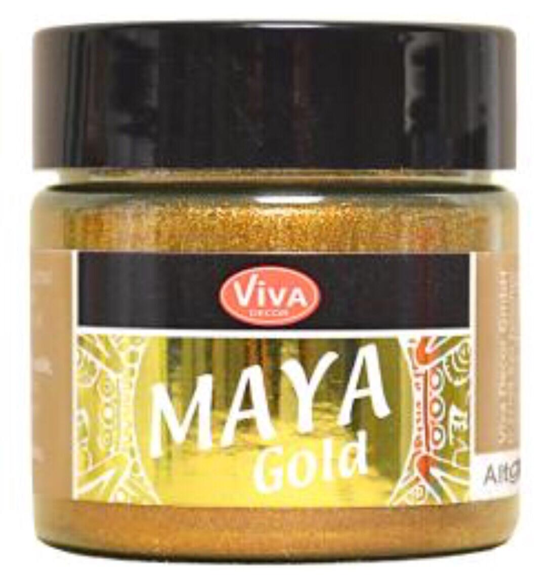 Viva Metallic Acrylic Paint (GOLD)