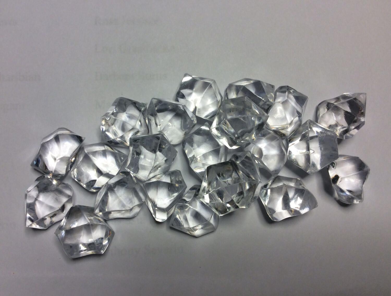 Large Clear Acrylic Ice Chunks (NEW)