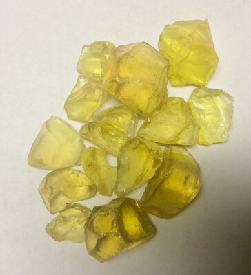 Golden Glass Chunks 200gr NEW