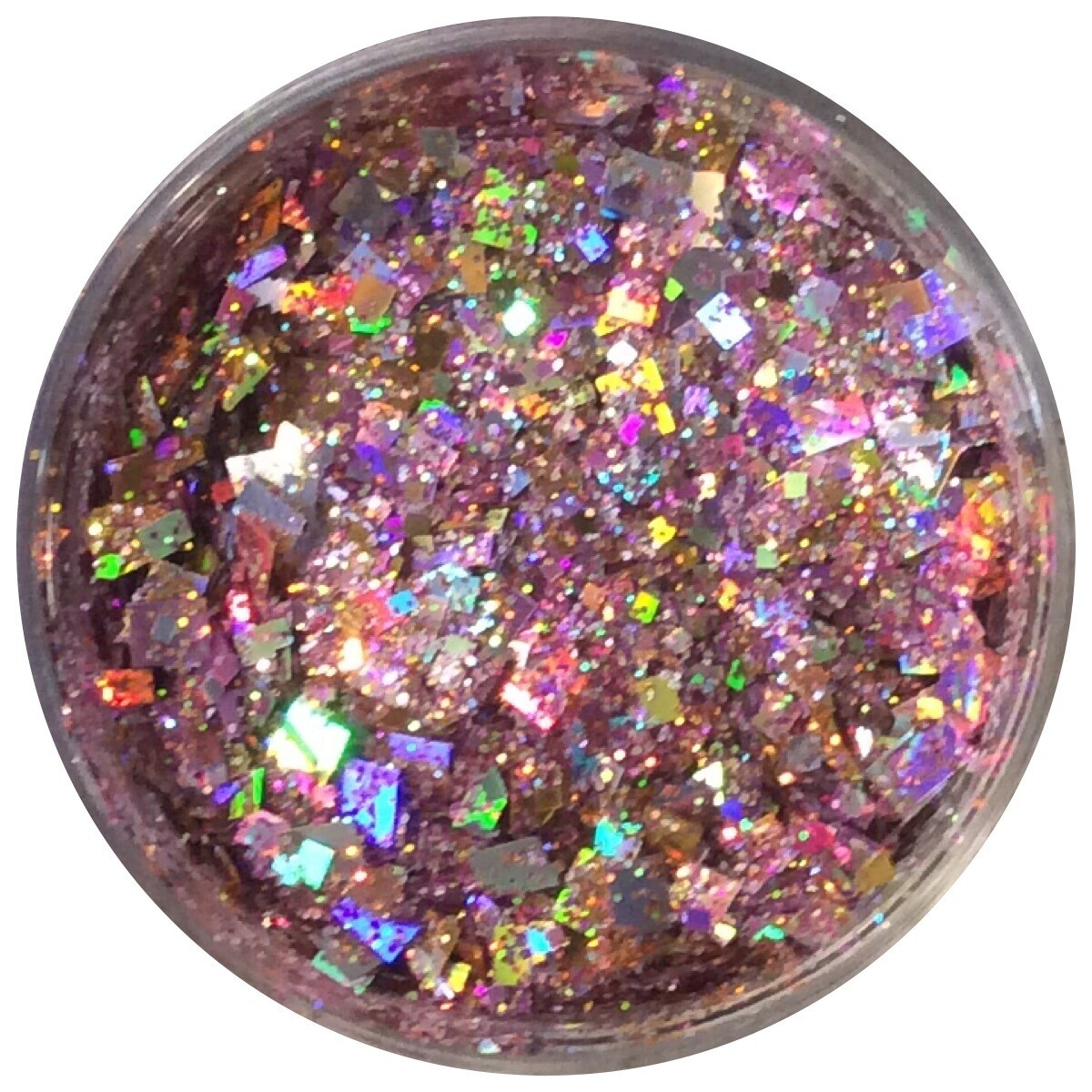 Pink Dazzle Chunky Glitter 30ml Special Cut