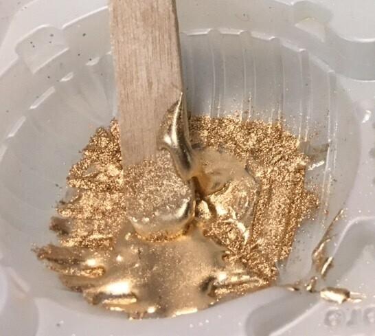 Iridron Pale Gold Pigment 25gr