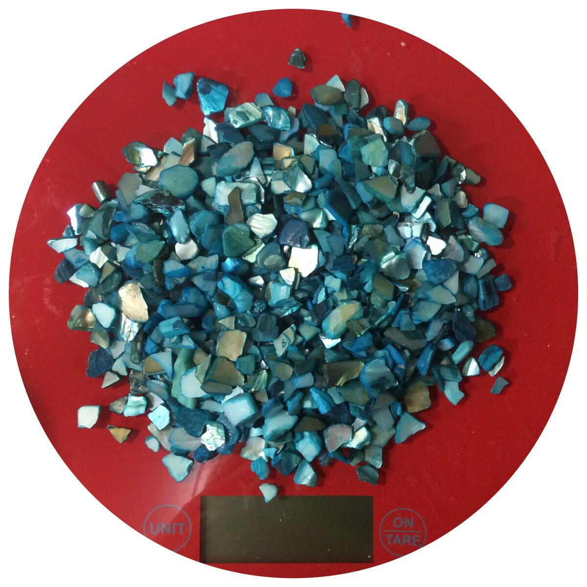 Broken Aqua Seashells 120gr (NEW)