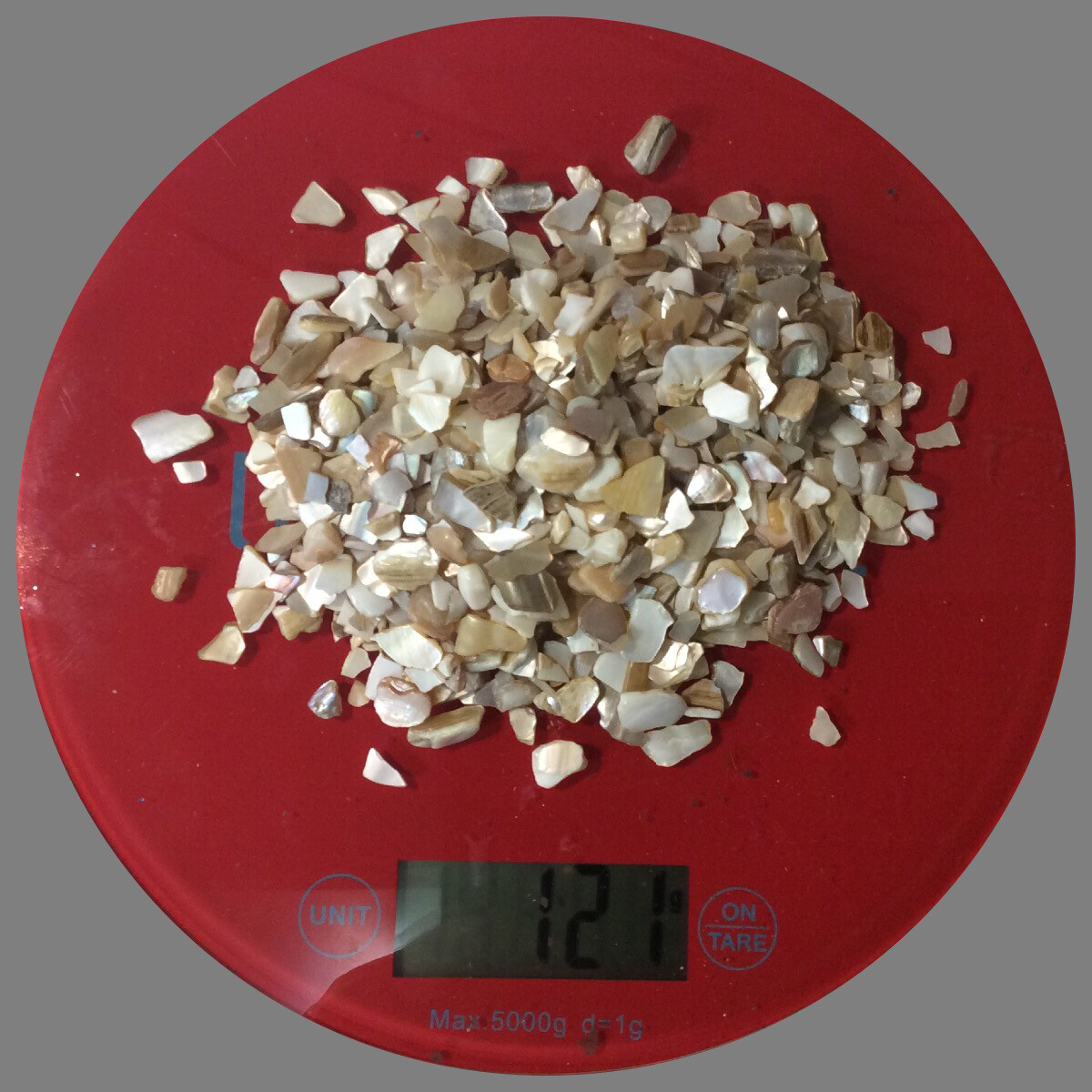 Broken Natural Seashells 120gr (NEW)