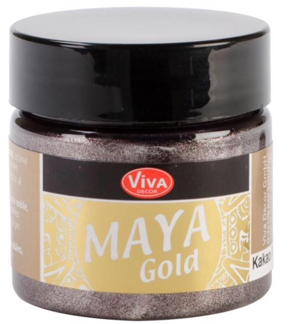 Viva Metallic Paint (Cacao) 45ml 00330