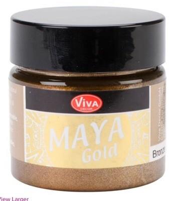 Viva Metallic Paint (Bronze) 45ml 00330