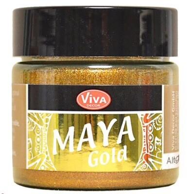 Viva Metallic Paint (Old Gold) 45ml 00330