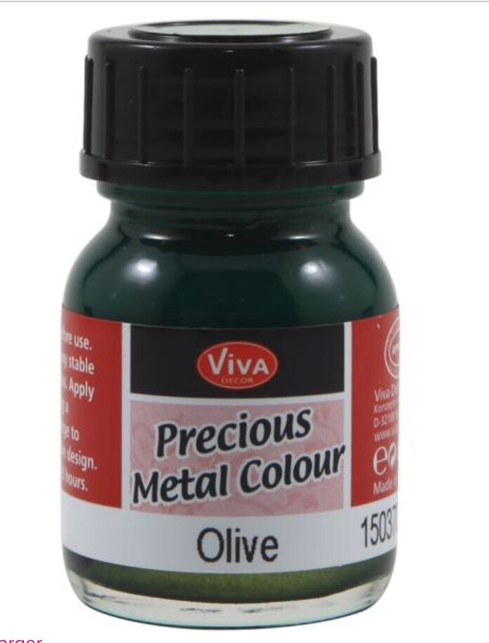 Viva Precious Metals Paint (Olive)