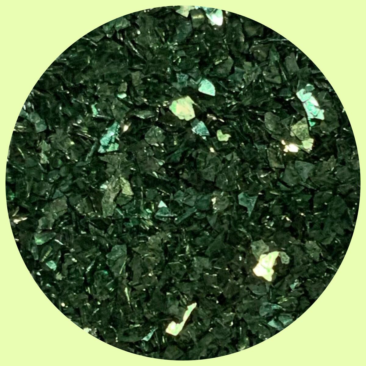 Green Meadows Glass Glitter