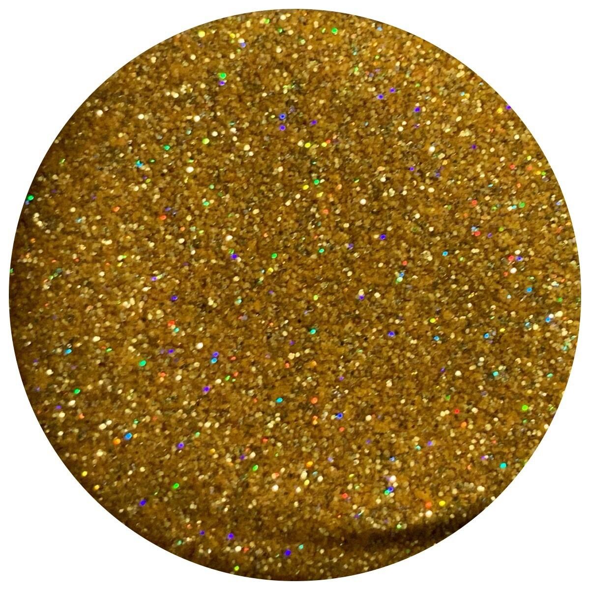 Sunny Gold Holographic Ultra Fine Glitter