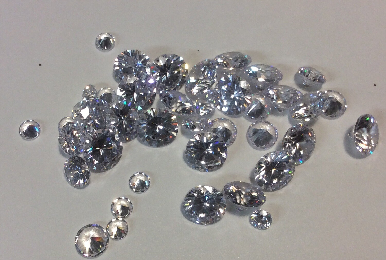 Cubic Zirconias Combo Pack (20-8mm,10-6mm,10-4mm) Limited Time Only