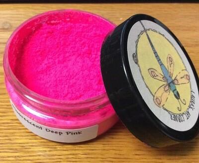 Fluorescent Deep Pink 25gr