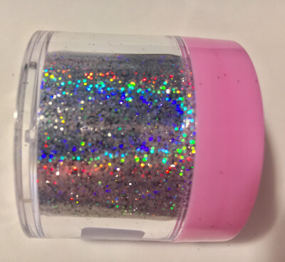 Opulence Silver Super Holographic Glitter Powder 20gr