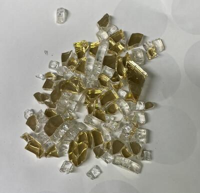 White Gold Fire Glass 200gr