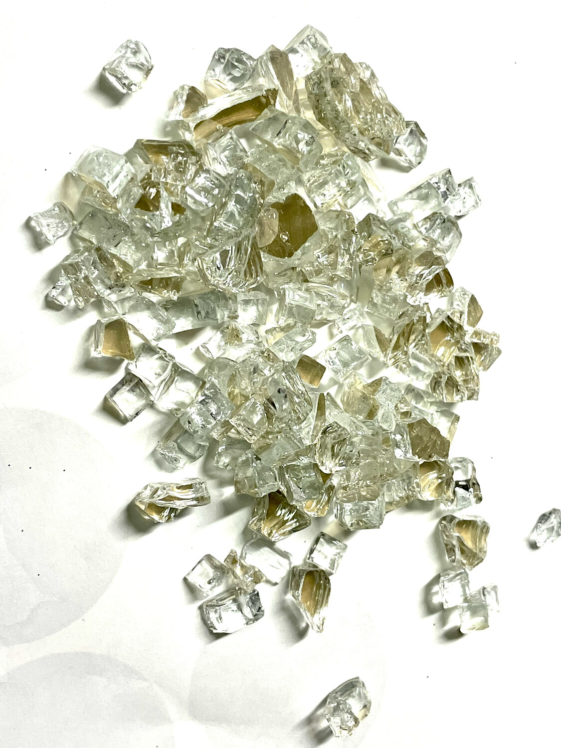 Champagne Reflective Fire Glass 200gr (NEW)