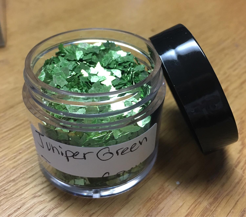 Juniper Green Glass Glitter (shards)
