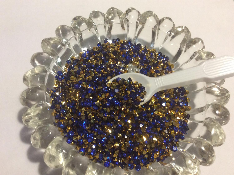 Royal Blue Sparkle Diamonds