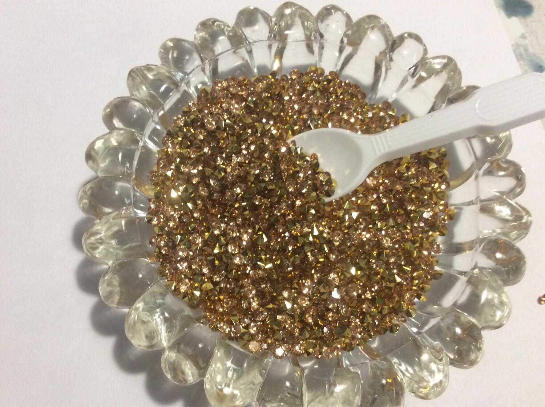 Gold Sparkle Diamonds