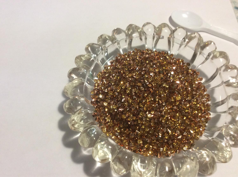 Rose Gold Sparkle Diamonds