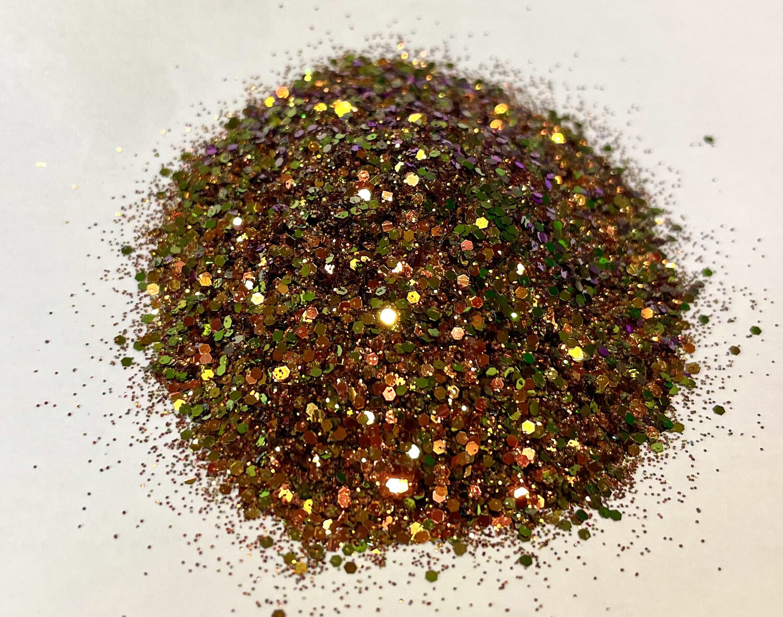 Diamond Copper Chameleon Glitter 1oz