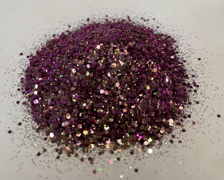 Diamond Raspberry Chameleon Glitter 1oz