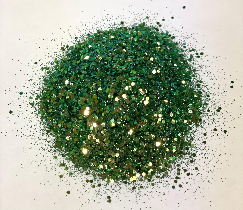 Diamond Green Chameleon Glitter 1oz