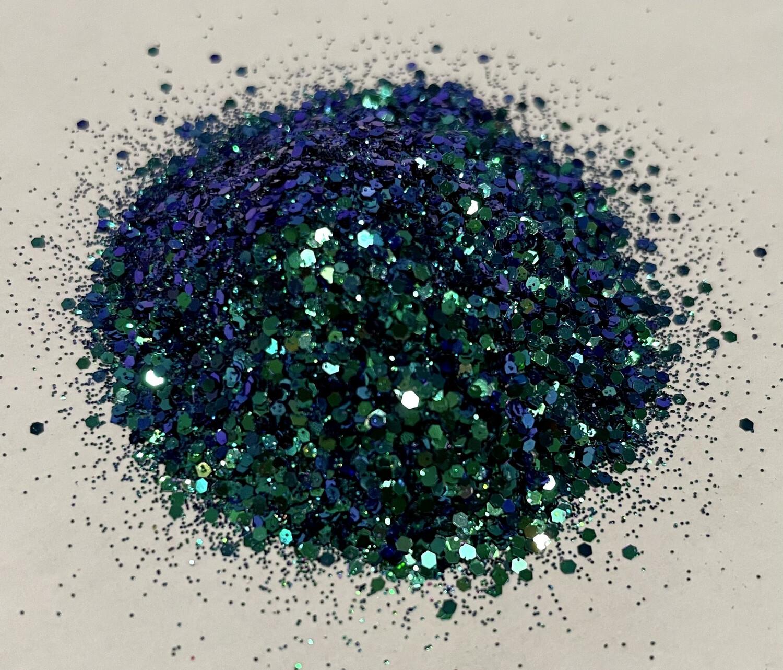 Diamond Teal Chameleon Glitter 1oz