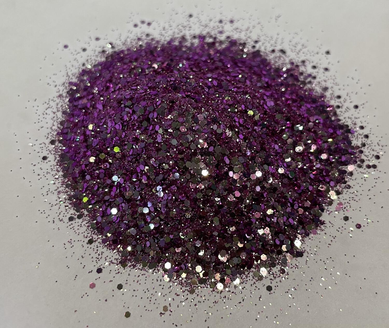 Diamond Amethyst Chameleon Glitter 1oz