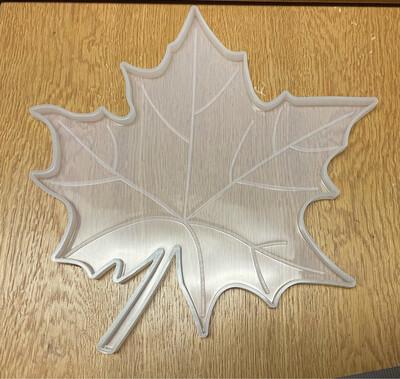 "Maple Leaf Silicone Mold (9""x9"")"