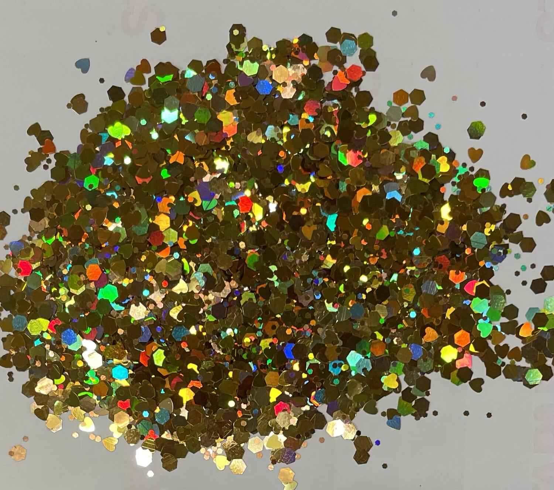 3D Chunky Glitter 1 Ounce