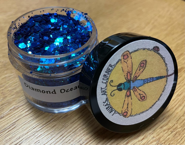 Diamond Ocean Blue Chameleon Glitter (NEW)