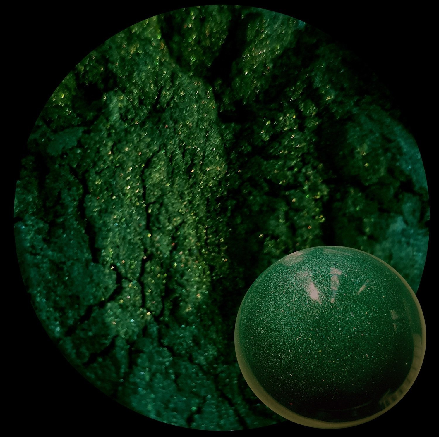FOREST GREEN PIGMENT 25gr-Opaque