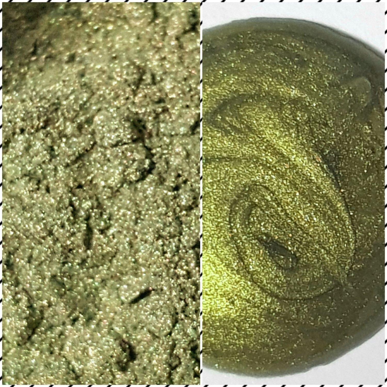 GOLDEN SAGE Pearlescent Pigment Powder 50ml -Semi-Transparent