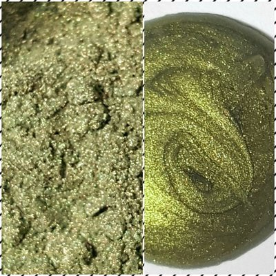 GOLDEN SAGE Pearlescent Pigment Powder 50ml -Semi-Transparent