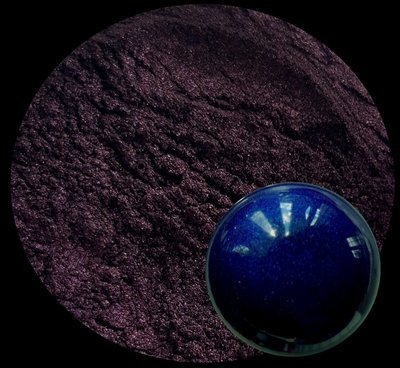 INDIGO- pearlescent powder pigment 50ml-Opaque