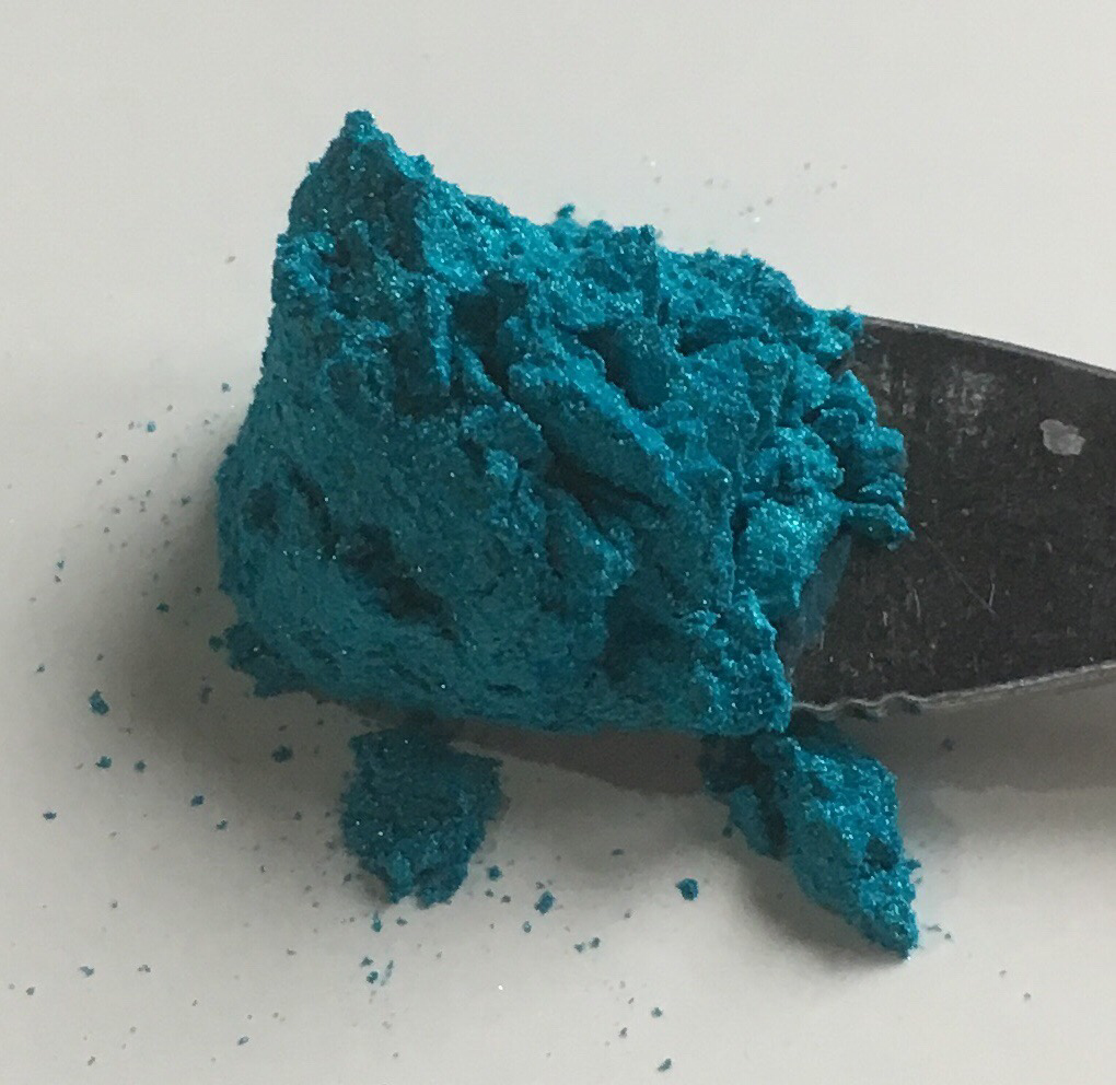 Turquoise Blue Powder Pigment 50 ml Opaque