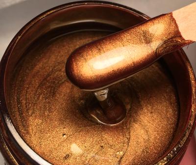 Chestnut Gold Metallic Paste 50gr