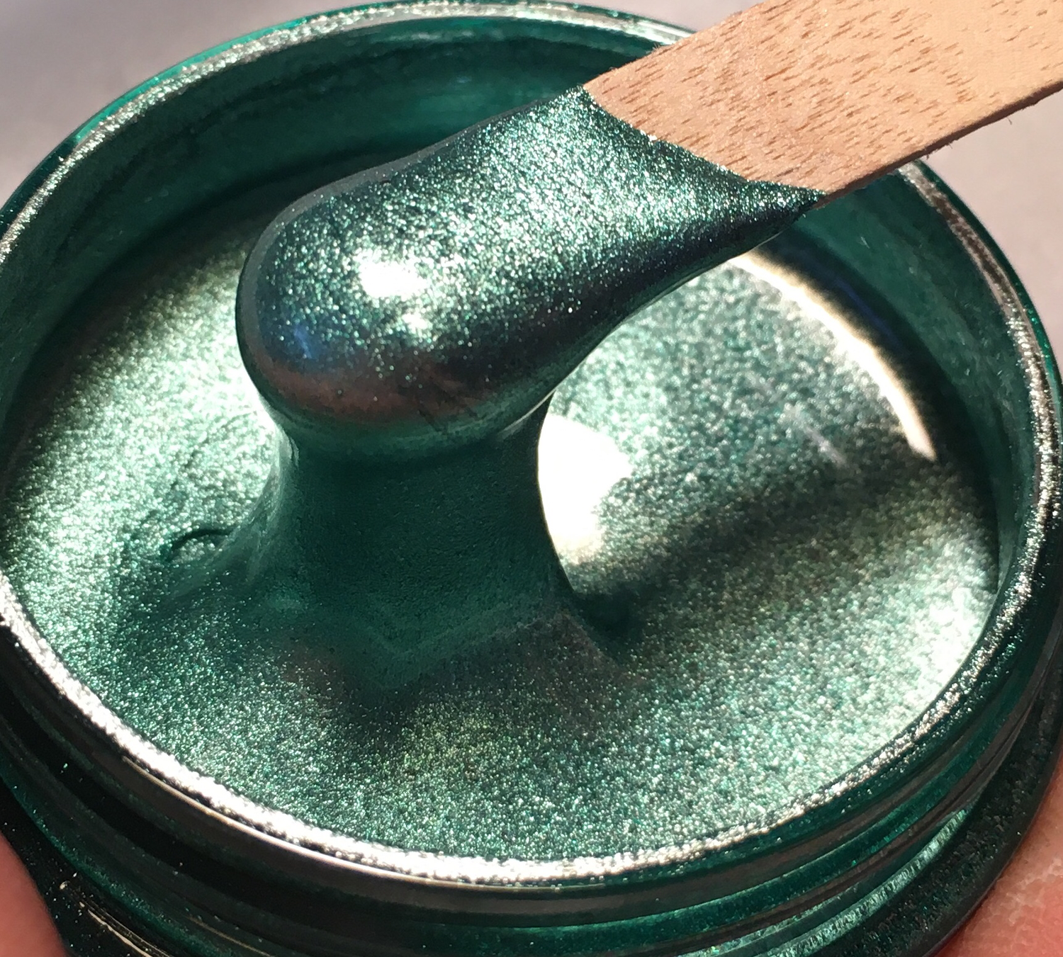 Misty Green Metallic Epoxy Paste 50g ( O/T)(New)