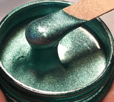 Misty Green Metallic Epoxy Paste 50g ( O/T)(New)