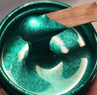Electric Green Metallic Epoxy Paste 50g ( O/T)(New)