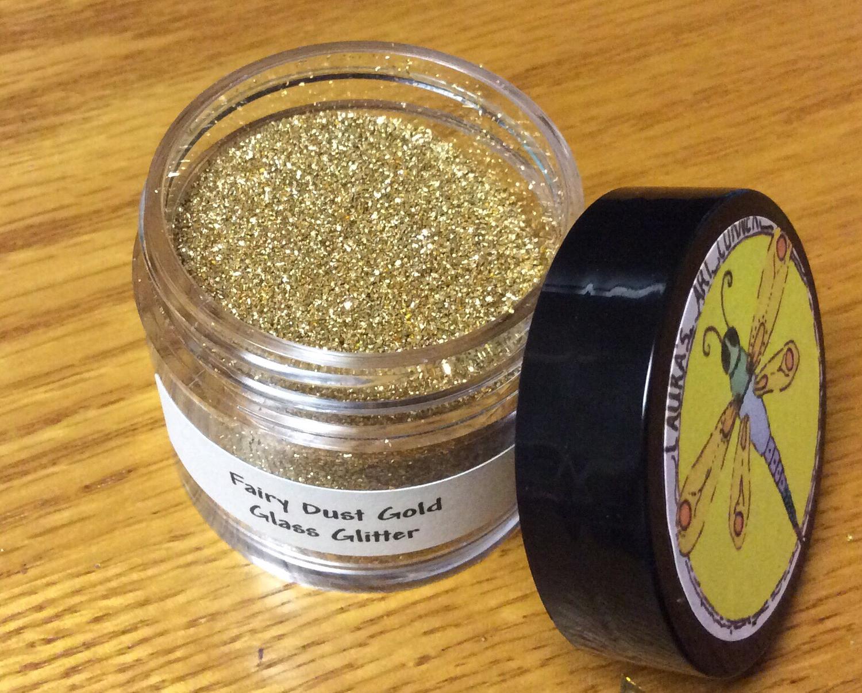 Fairy Dust Gold (fine) Glass Glitter 30gr