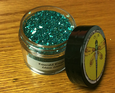 Emerald Knights Chunky Glass Glitter 30gr NEW