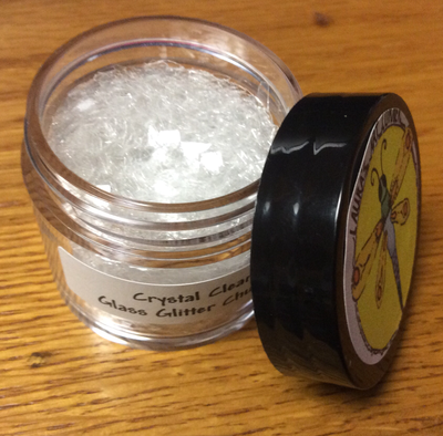 Crystal Clear Large Glass Glitter 30gr